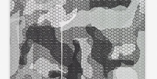 Mimetico 08 Carte 2014 56x77