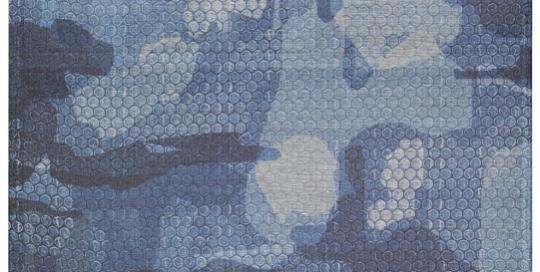 Mimetico 2014 Tecnica mista 58,5x135
