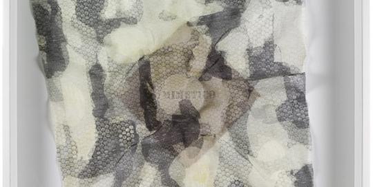 Mimetico 2014 Tecnica mista 96x84